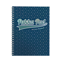 Pukka GLEE Jotta Notepad 200Pg 80gsm Wirebound A4+ Various Colours [Pack 3]