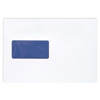 Blake Premium Pure Envelopes Pocket Peel & Seal Window 120gsm C5 Super White Or Ultra White Wove [Pack 500]