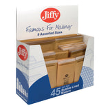 Jiffy Airkraft Bag Selection Box Gold Assorted [Pack 45 Or 50]