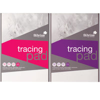 Silvine Professional Or General Tracing Pad Acid Free Paper 50/90gsm 50 Sheets A3 Or A4