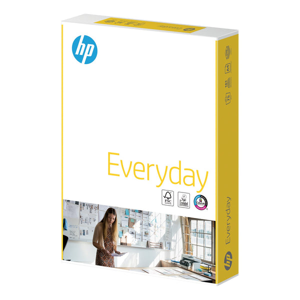 Hewlett Packard HP Everyday Paper FSC Colorlok 5x Ream-wrapped Pk 75gsm A4 White [2500 Sheets]