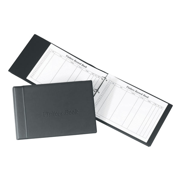 Concord Visitors Book Loose-leaf 3-Ring Binder with 50 Sheets 2000 Entries 230x355mm (Refills Also)