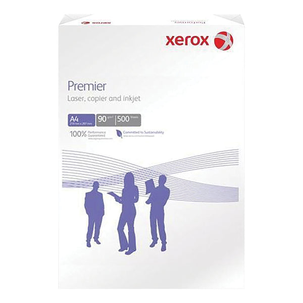 Xerox Premier Copier Paper Multifunctional Ream-Wrapped 90gsm A4 White [500 Sheets]