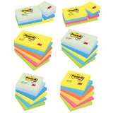 Post-it Colour Notes Pad of 100 Sheets Various Sizes and Various Colours [Pack 6/12]