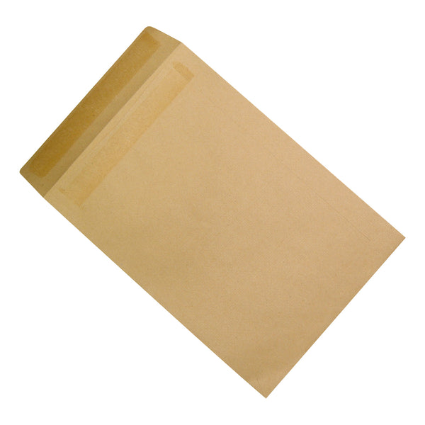 5 Star Office Envelopes Large FSC Recycled Pocket Self Seal 90gsm 381x254mm Manilla [Pack 250]