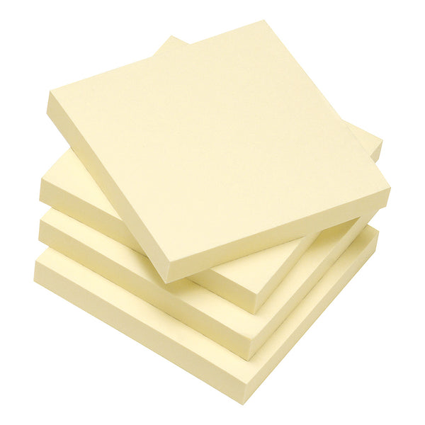 5 Star Eco Re-Move Recycled Notes Repositionable Pad of 100 Sheets Various Sizes [Pack 12]