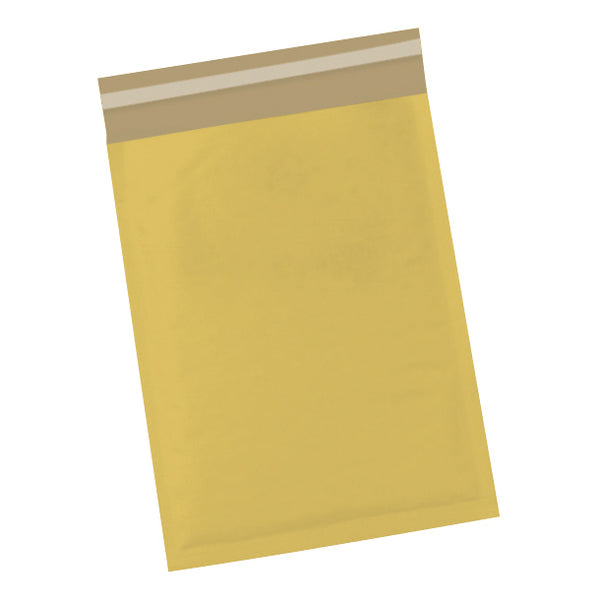 5 Star Office Bubble Lined Bags Peel & Seal Gold Various Sizes [Pack 50/100]