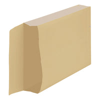 New Guardian Armour Envelopes C4 Gusset 50mm Peel And Seal 130gsm Kraft Manilla [Pack 100]