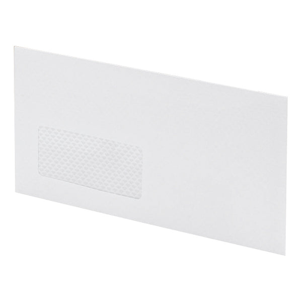 Postmaster Envelopes PEFC Mailing Machine Wallet Gummed with Window 90gsm DL 114x235mm White [Pack 500]