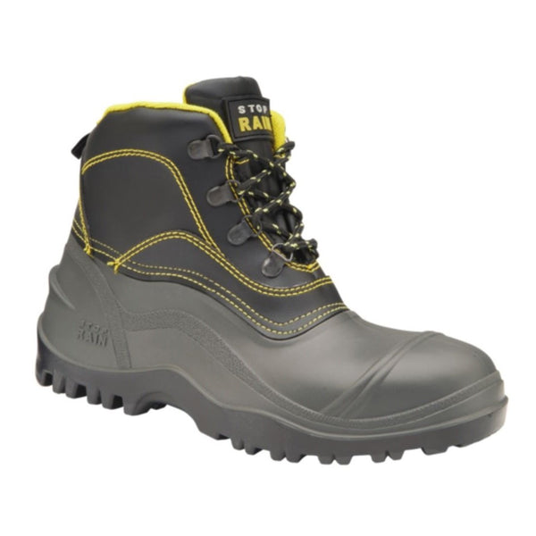 Black Rubber Waterproof Boot