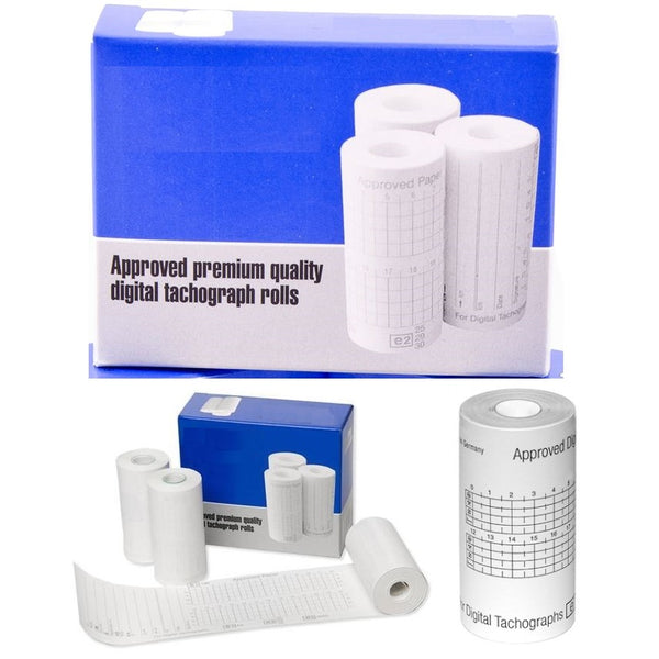 Digital Tachograph Rolls (3 per box) (Multi-packs available cheaper)