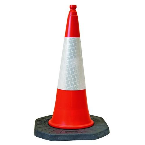 Highway Compliant, High Visibility Traffic Cones