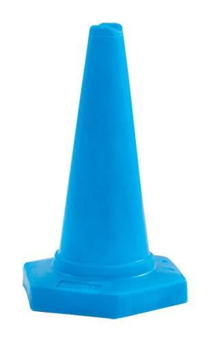 Durable Moulded Plastic Colour-Coded Warning Cones