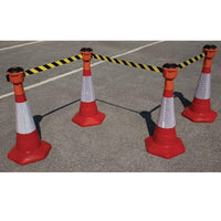 Retractable Barrier and Cone Kits
