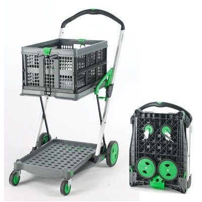 Durable Folding Trolley With Removable Folding Box