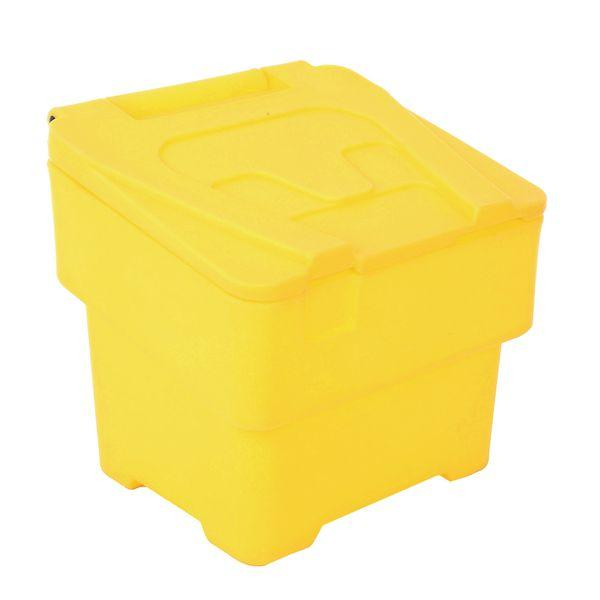 60 Litre Grit and Salt Bin With Hinged Lid