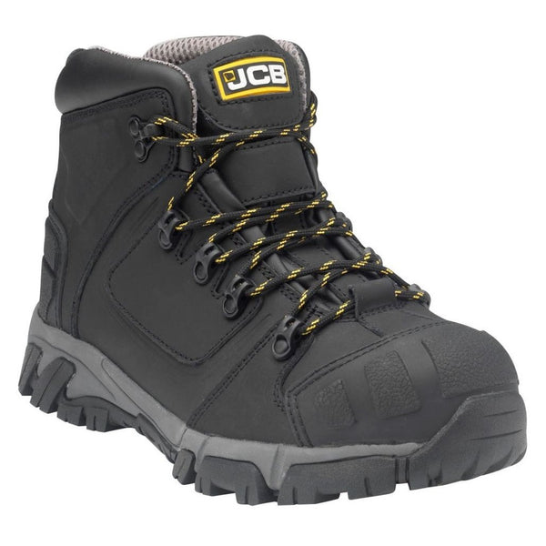 JCB Xseries Black Boot With Aluminium Toecap