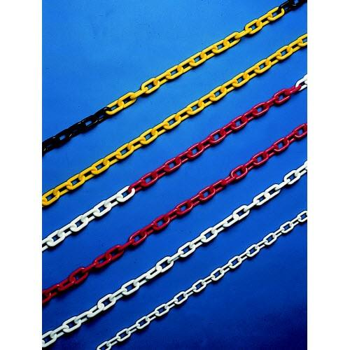 Durable coloured plastic bollard chains (various thickness)
