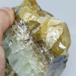 RAW Green Calcite (LARGE)