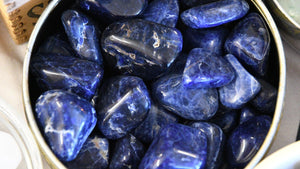 Sodalite Diamond (Tumbled)