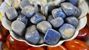Dumortierite (Tumbled)