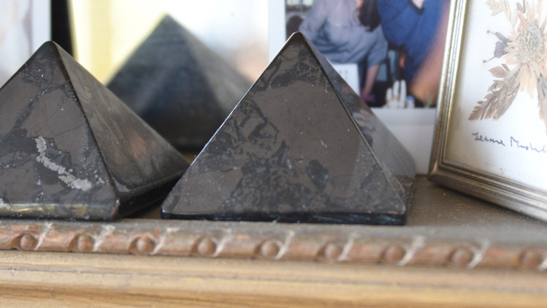 Shungite Pyramid - EMF Protection!!