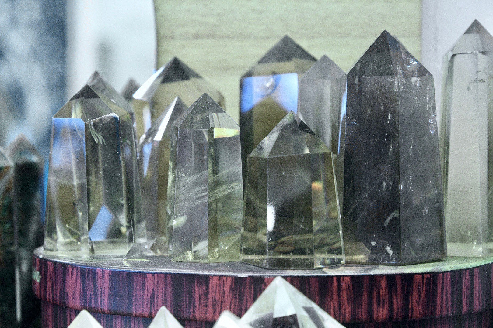Smoky Quartz - Polished Standing Point