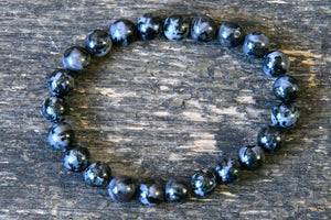 "Merlinite ""Indigo Gabbro"" Bracelet (8mm)"