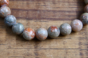 Autumn Jasper Bracelet (8mm)