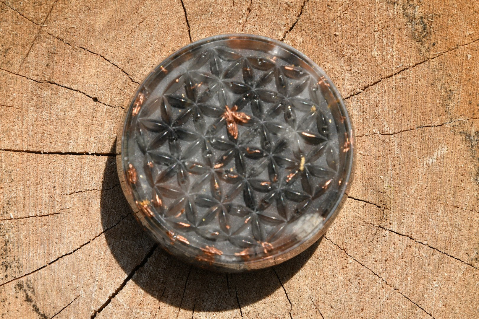 Flower of Life Orgonite