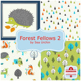 Forest fellows panel in wild - Forest Fellows 2 by Sea Urchin Studios for Robert Kaufman