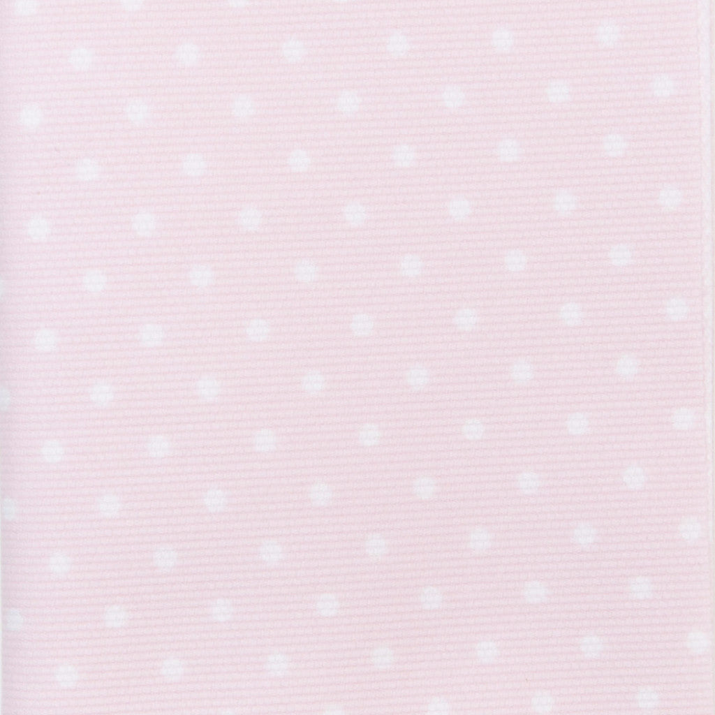 Iron-On Fusible Fabric - Baby Pink Polka Dot