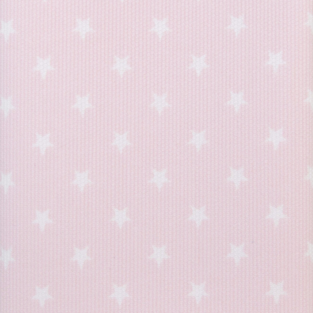 Iron-On Fusible Fabric - Baby Pink Stars