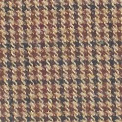Kirkton Brown Tweed Check 563 Tartan 100% Wool