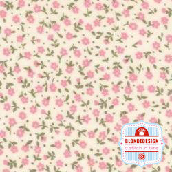 English Classics cotton poplin Alstroemeria liberty pink CP0094