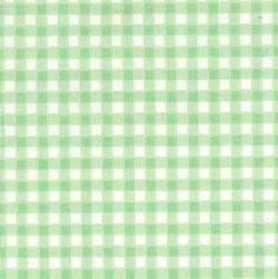 Rose & Hubble cotton poplin gingham check in mint
