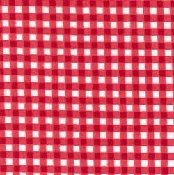 Rose & Hubble cotton poplin gingham check in red