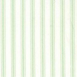 Rose & Hubble cotton poplin ticking stripe in mint