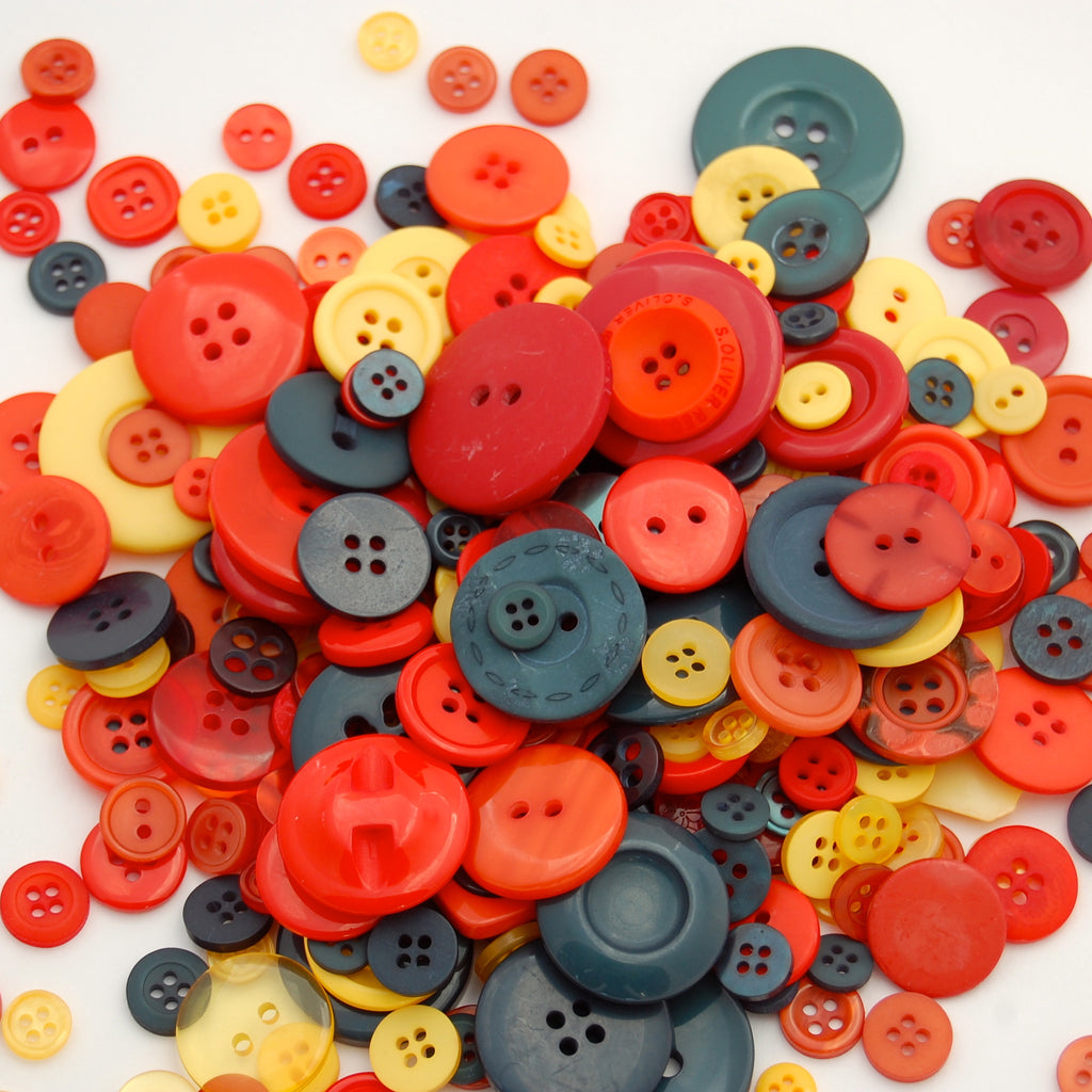 Autumn Mix Buttons 50g