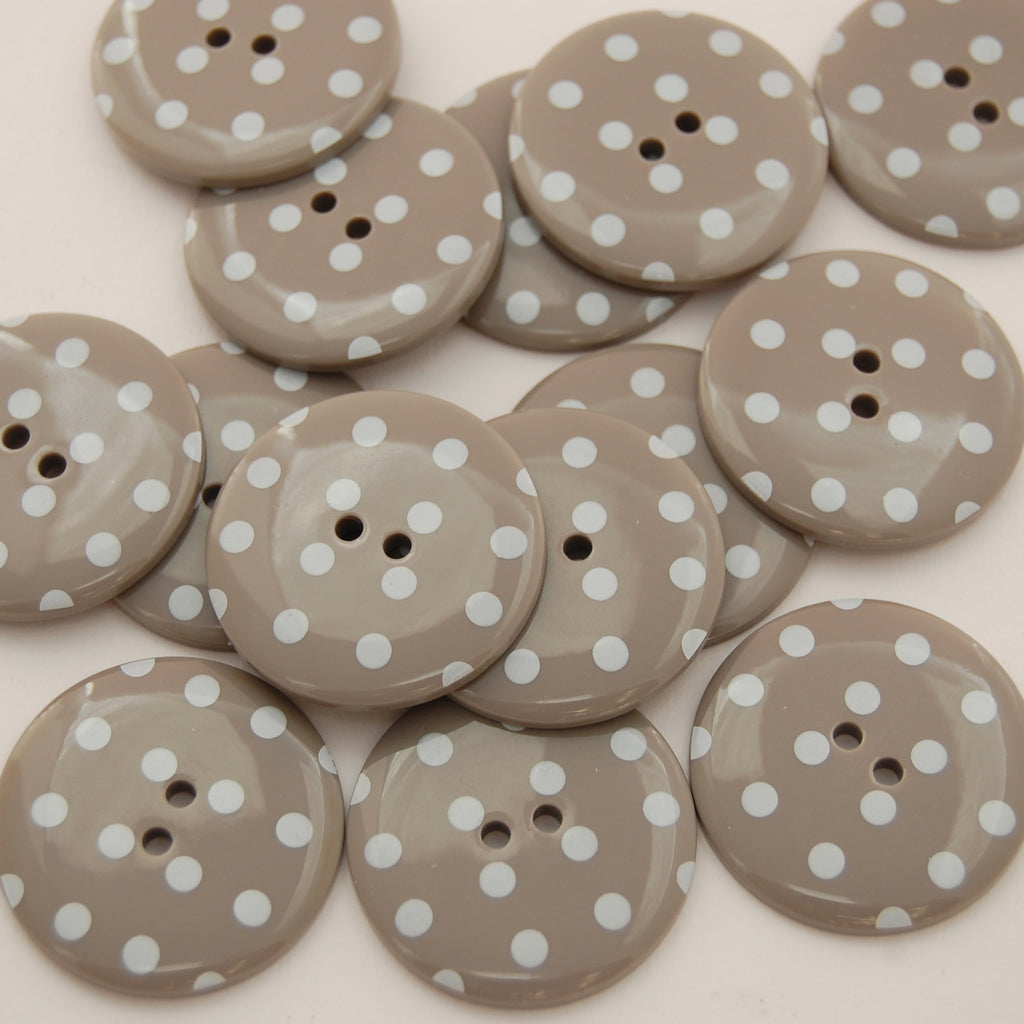Big Mushroom Spotty Buttons