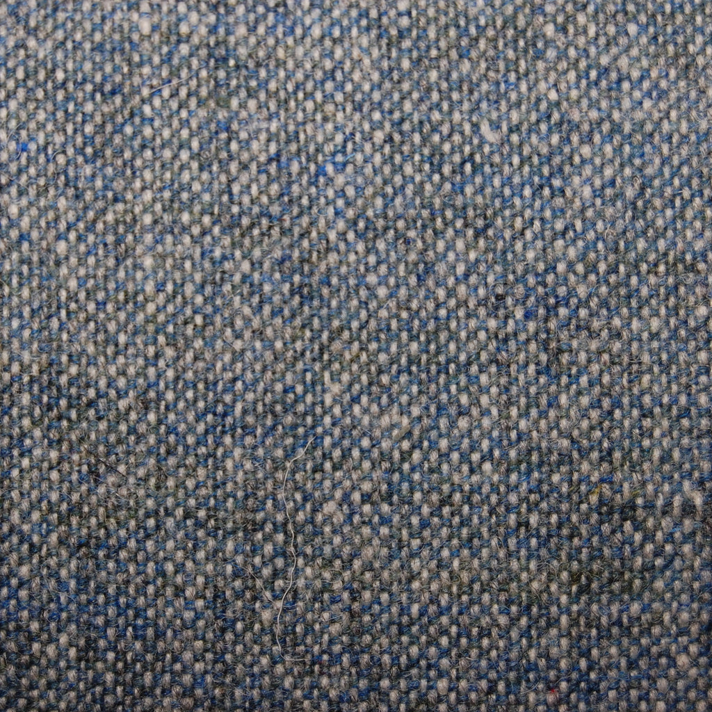 Semiplain Tweed Aqua Tartan  100% Wool