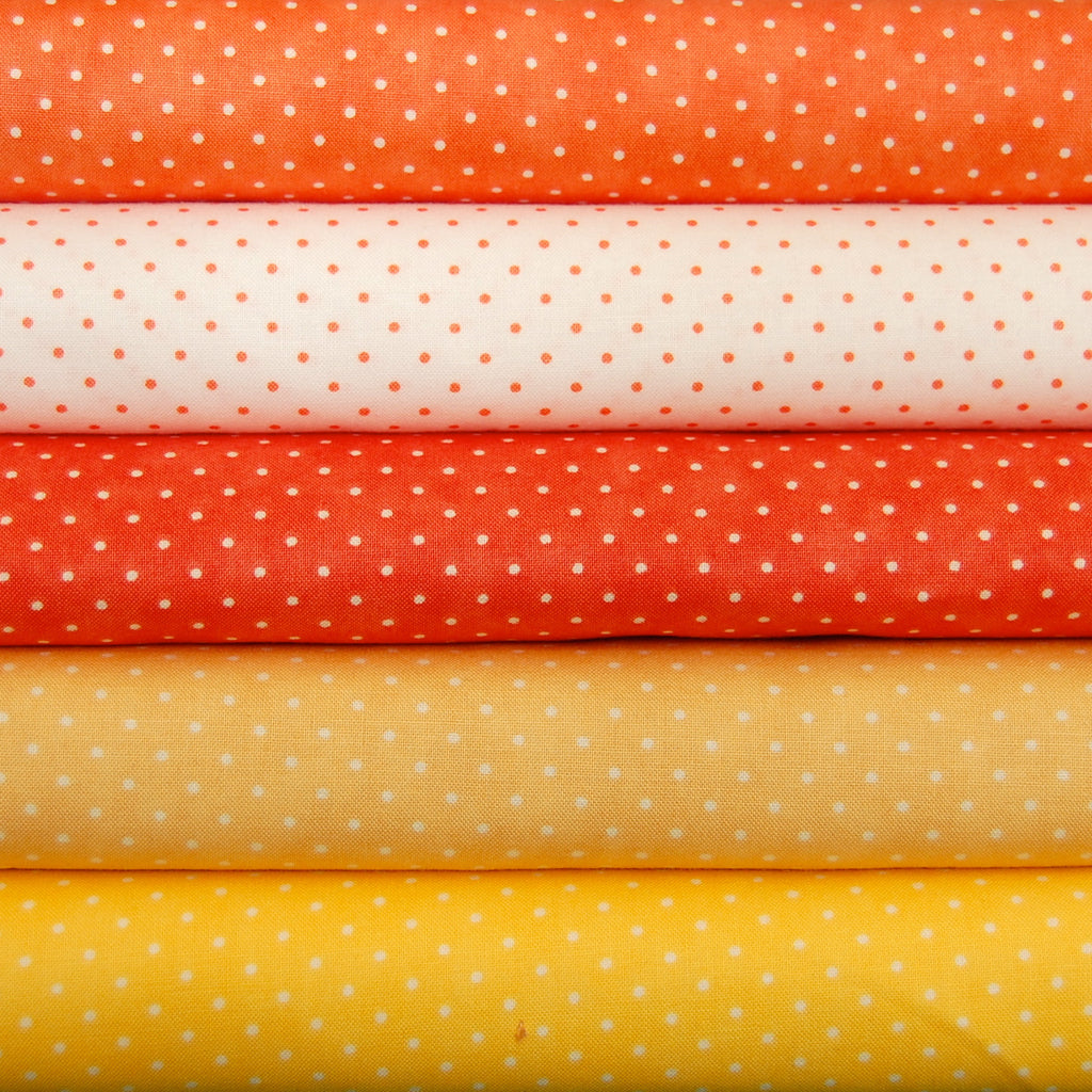 Moda Essential Dots Orange Bundle