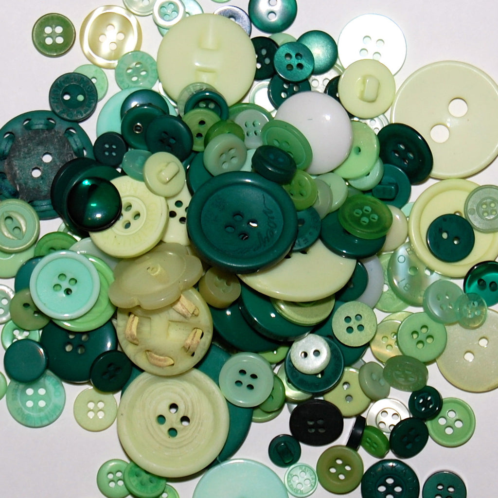 Green Mix Buttons 50g