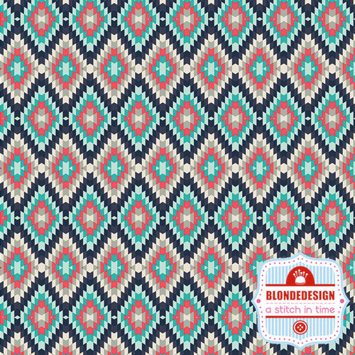 Recollection Kilim Inherit Shadow - Art Gallery Fabric