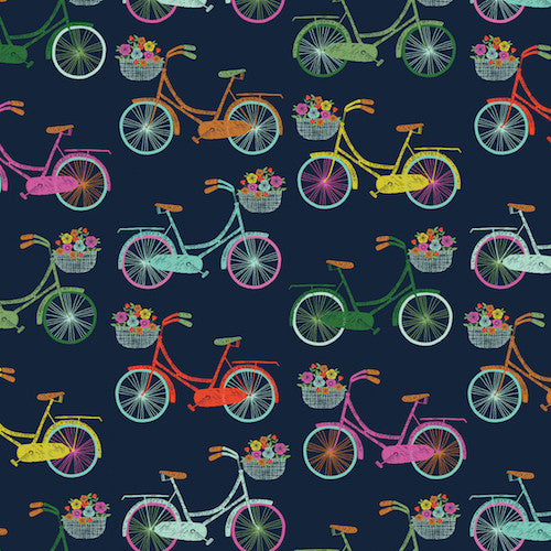 Summer bicycles - Sweet Escape by Bethane Janine for Dashwood Studios
