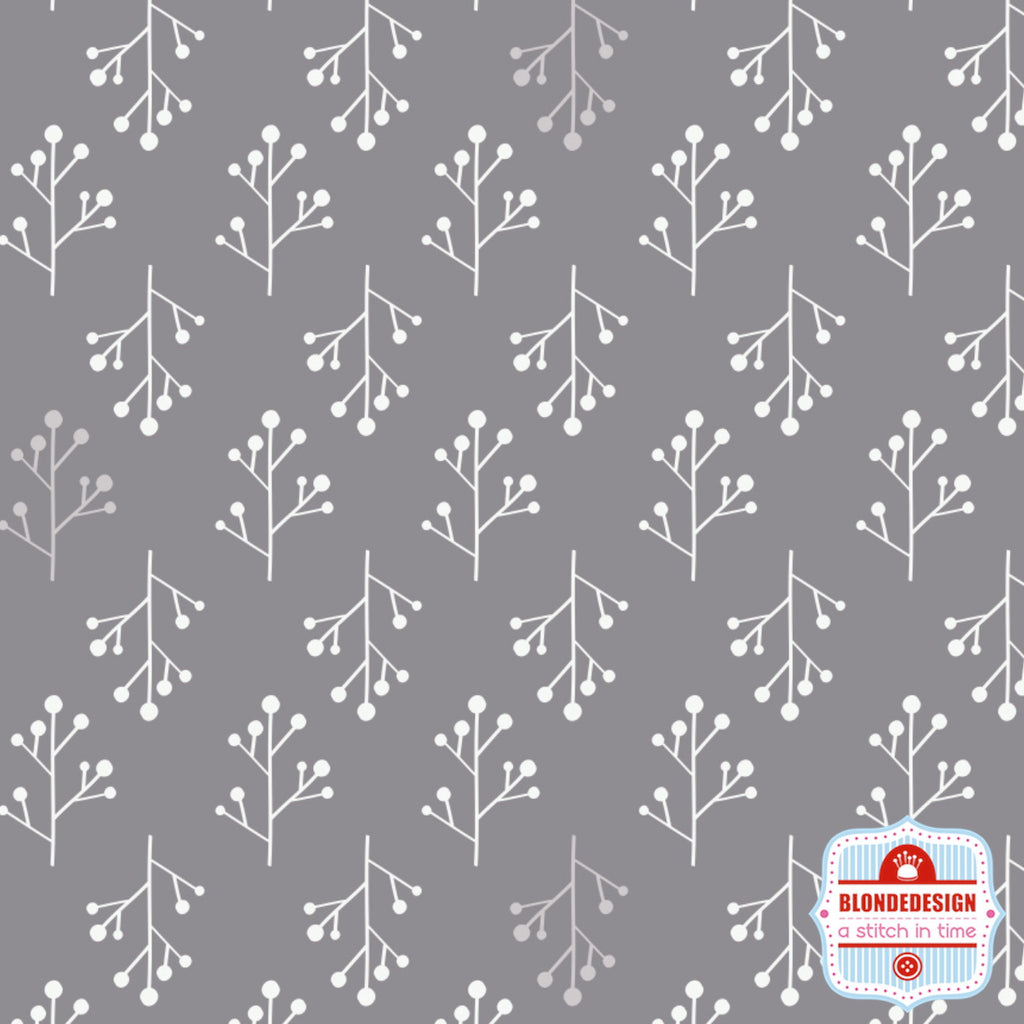 Twigs in Grey by Camelot Fabrics