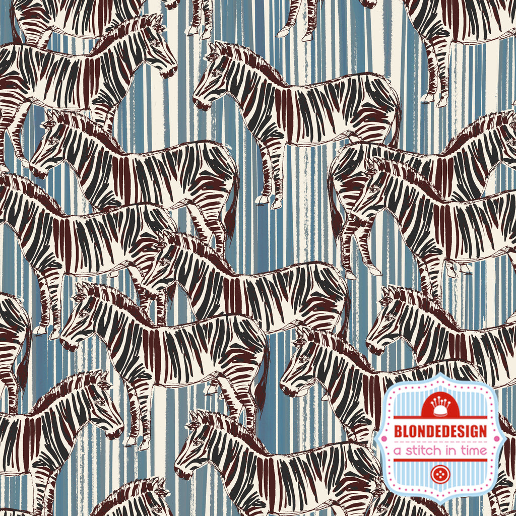 African Sun - Zebra by Inprint Makeower