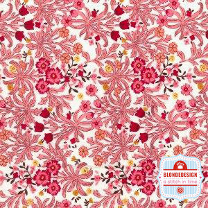 English Classics cotton poplin Carnation liberty pink CP0342