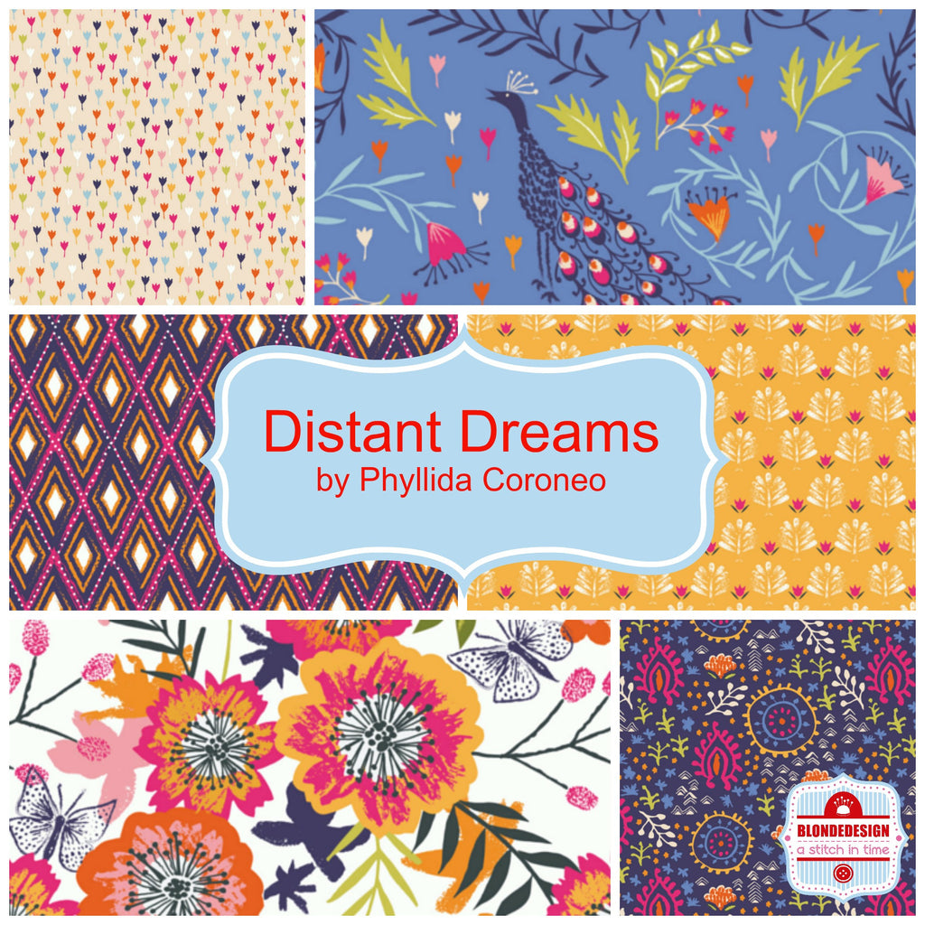 Distant Dreams by Phyllida Coroneo for Dashwood Studios x 6