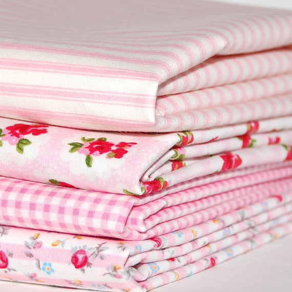 Rose & Hubble cotton poplin bundle pink x 4